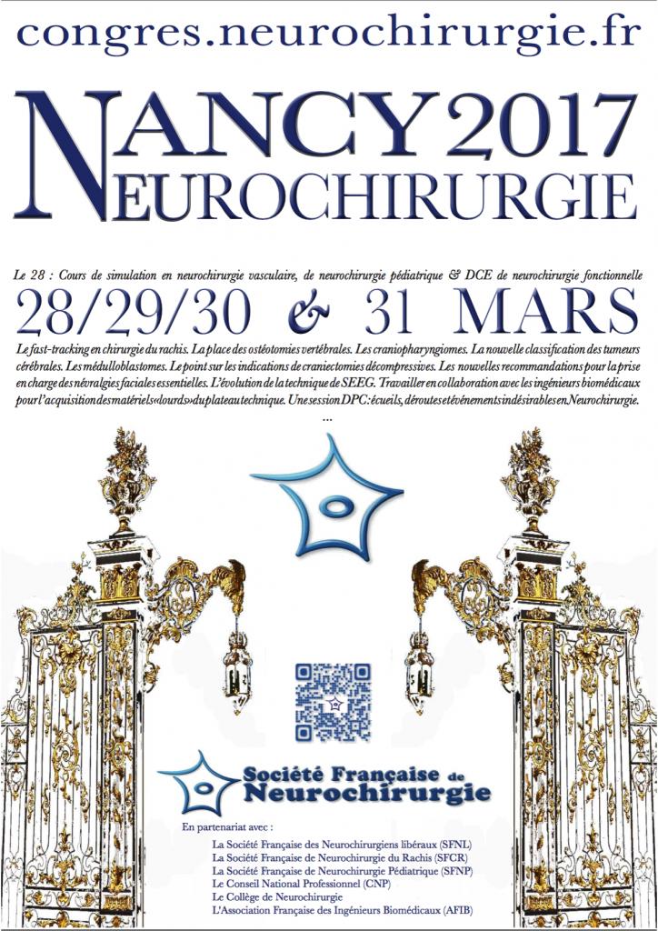 Congrès National de la Sociéte Française de Neurochirurgie ...